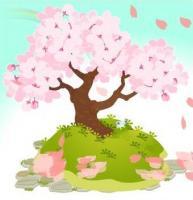 ひさかたの光のどけき春の日に しづ心なく花の散るらむ